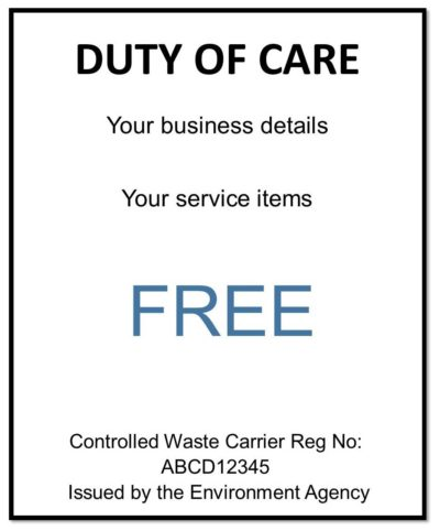 Free Duty of Care