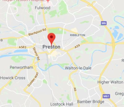 Washroom servicing in Preston