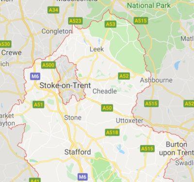 Washroom servicing in Staffordshire